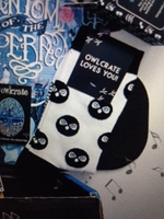 OwlCrate Loves you anniversary socks