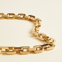 Eddie Borgo Supra Link Collar Necklace