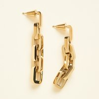 Eddie Borgo Supra Link Earrings