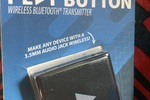 Bluetooth play button wireless Bluetooth transmitter