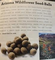 Kevia Arizona Wildflowers Seed-Balls