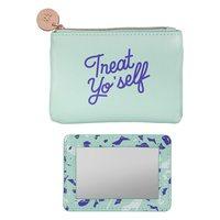 Yes Studio Treat Yo Self Coin Purse + Mirror