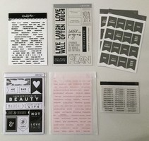 Studio Calico Stickers and Cardstock Lot