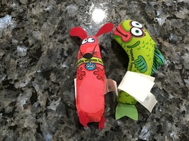 Dog and fish toy
