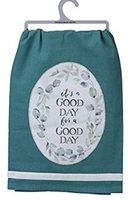 Primitives by Kathy - It's a Good Day Dish Towel