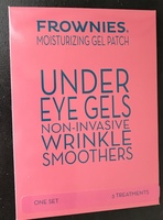 Frownies Moisturizing Under Eye Gels Non-Invasive Wrinkle Smoothers