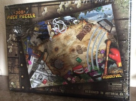"The Goonies 300 Piece Puzzle ""Booty Traps"""