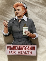 I Love Lucy Vegemite Episode Magnet