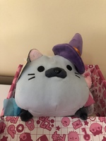 Halloween plush cat