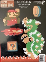 Super Mario brothers 6 decals
