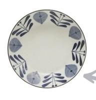 "8"" Blue Flower Porcelain Bowl"