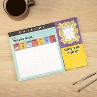 Friends Desktop Weekly Planner Notepad