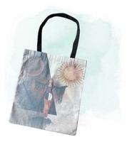 Cosmic Collage Balance Tote Bag
