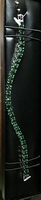 Silver And Green Crystals Tennis Bracelet