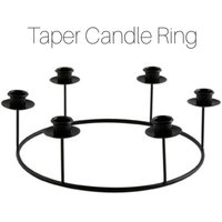 Taper Candle Ring
