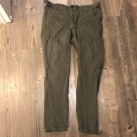 Forever 21 Size 26 Green Skinny Jeans