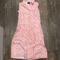 Vintage! Liz Claiborne 8P button down floral 1950s dress