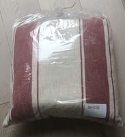 Envogue Red Striped Pillow