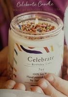 Celebrate Birthday Cake Candle