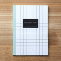 "Composition Book by Compendium - ""There is Nothing Like a New Day. A Bold Change. A Blank Page"""