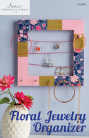Annie's Floral Jewelry Organizer craft project