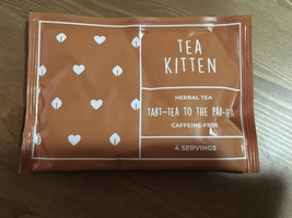 Tea Kitten tart-tea to the par-tea