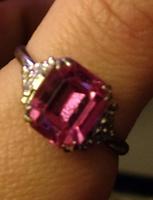 Pink Ring Size 9