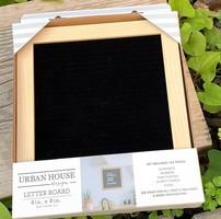 Urban House Oak Framed Farmhouse Letter Board