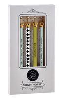 Santa Barbara Design Studio Crown Pen Set (Set of 4)