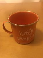 Hello pumpkin metal mug