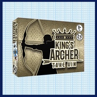 KING'S ARCHER TAKE AIM CARD GAME FROM TOPSIDE GAMES