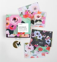 KTSMAIL PAINTED PETALS NOTECARDS