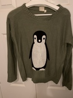 GT Pink Owl sweater, medium