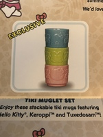 Sanrio mug set