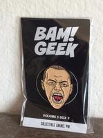 """""""The Beast"""" Fan Art Pin (Glass trilogy)"""