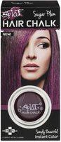 Splat Sugar Plum Hair Chalk, Temporary Purple Hair Color Highlights