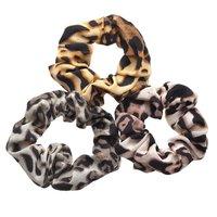 Noir Jewelry Ombre Leopard Scrunchies