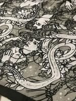 Serpent & dove scarf