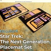 Star Trek: The Next Generation Place Mats