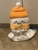 Gudetama snowman plush