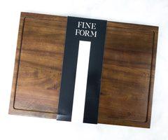 Fine Form Walnut Cutting Board