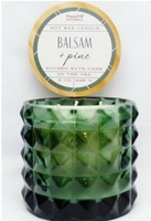 Paddywax Vineyard Hill Naturals Balsam Pine Soy Wax 3-wick Candle