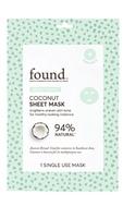 FOUND Brightening Coconut Sheet Mask