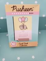 Pusheen easel desk calendar