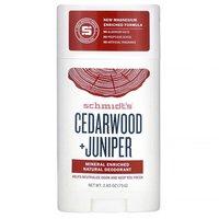 Schmidt's Cedarwood + Juniper Natural Deodorant Stick
