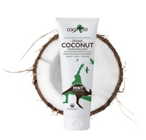 CocoRoo Mint Condition Organic Coconut Moisturizing Lotion