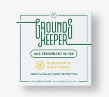 Grounds Keeper Antiperspirant Wipes