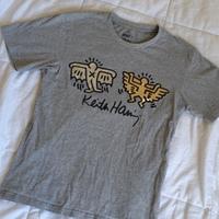 Metallic Keith Haring Shirt