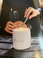 Detroit Wick Cement Vessel Candle