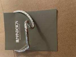 Hammered silver cuff